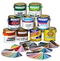 Berger Paints product range