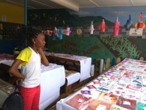 Outgoing Grade 6ers of Allman Town Primary showcase what they have learnt creatively.